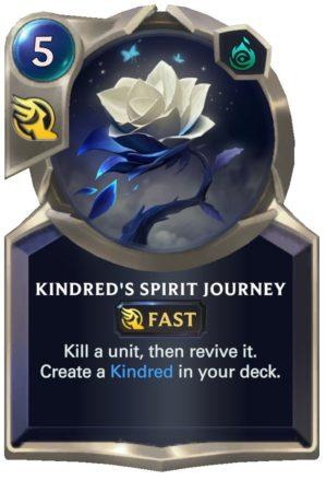 Kindred's Spirit Journey (LoR Card)
