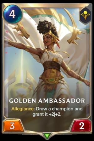 Golden Ambassador (LoR Card)