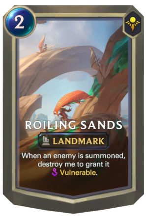 Roiling Sands (LoR Card)