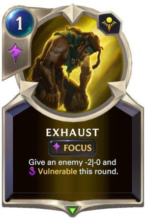 Exhaust (LoR Card)