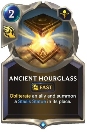 Ancient Hourglass (LoR Card)