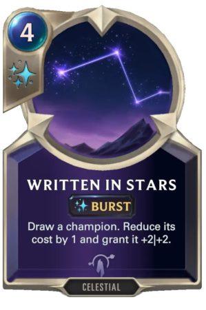 Written in Stars (LoR Card)