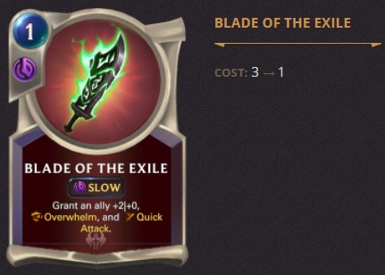 Blade of the Exile Patch 2.1.0