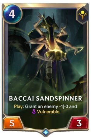 Bacci Sandspinner (LoR Card)