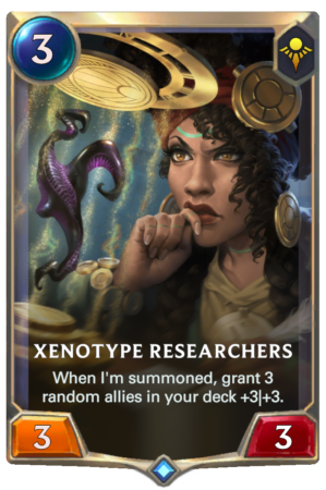 Xenotype Researchers (LoR card)