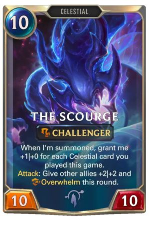 The Scourge (LoR Card)