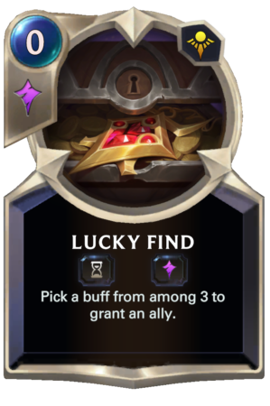 Lucky Find (LoR reveal)