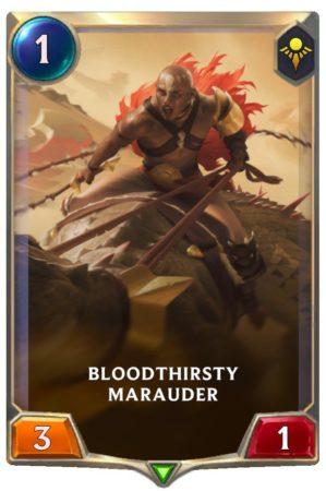 Bloodthirsty Marauder (LoR Card)