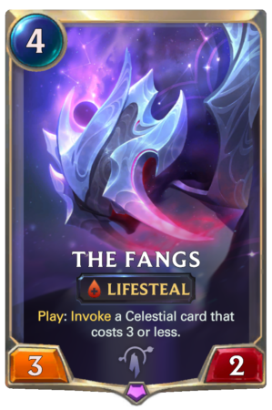 The Fangs (LoR card)