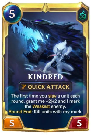 Kindred level 2 (LoR Card)