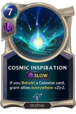 Cosmic Inspiration (LoR Card)