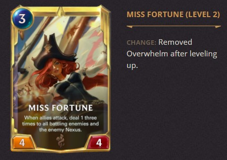 Miss Fortune 2.1.0