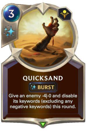 Quicksand (LoR Card)