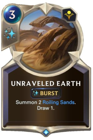 Unraveled Earth (LoR Card)