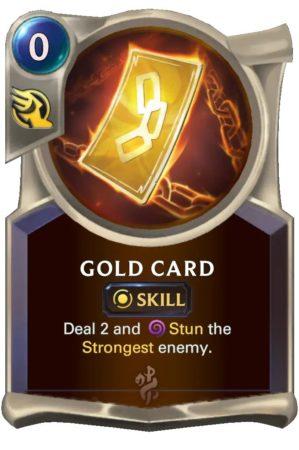 Gold Card (LoR Card)