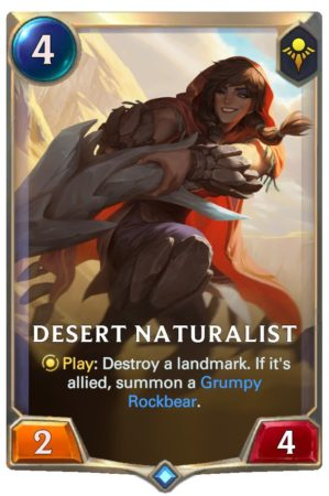 Desert Naturalist (LoR Card)