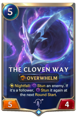 The Cloven Way (LoR card)