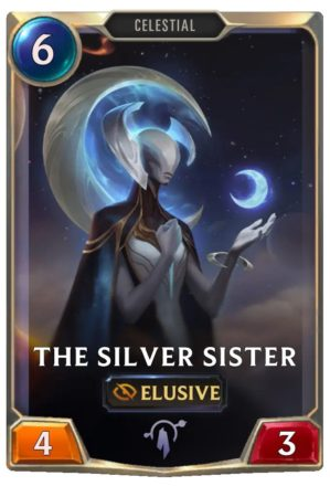 The Silver Sister (LoR Card)