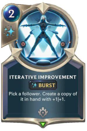 iterative improvement (LoR Card)