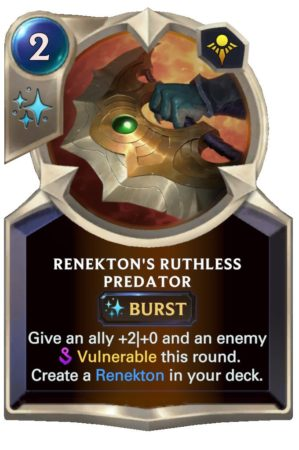 Renekton's Ruthless Predator (LoR Card)