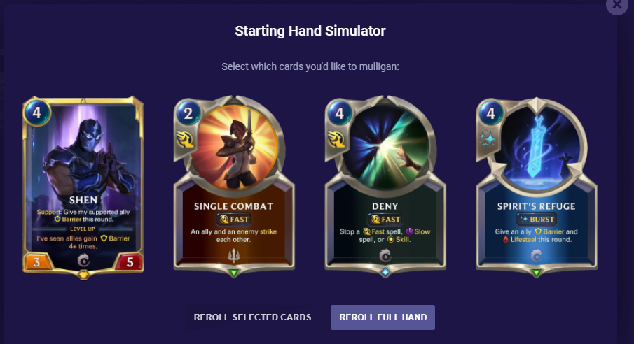 How to Mulligan Example 3