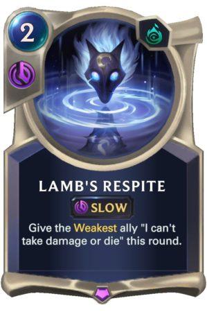 Lamb's Respite (LoR Card)