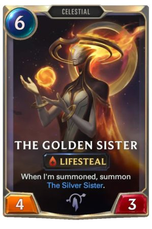 The Golden Sister (LoR Card)