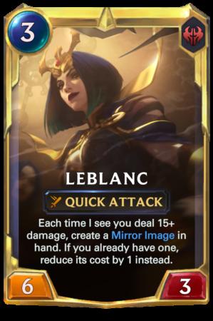 LeBlanc Level 2 (LoR reveal)