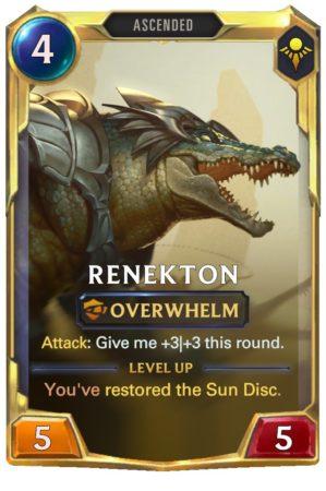 Renekton level 2 (LoR Card)