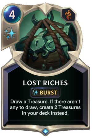 Lost Riches (LoR Card)