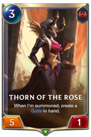 Thorn of the Rose (LoR reveal)