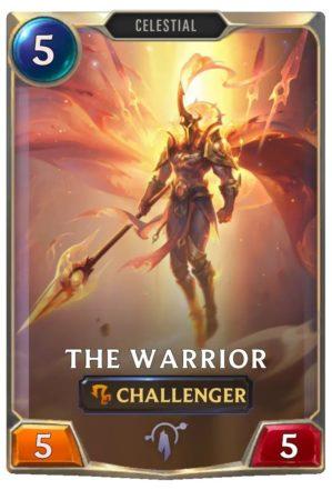 The Warrior (LoR Card)