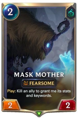 Mask Mother (LoR Card)