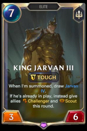 King Jarvan III (LoR reveal)