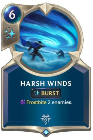 Harsh Winds (LoR Card)