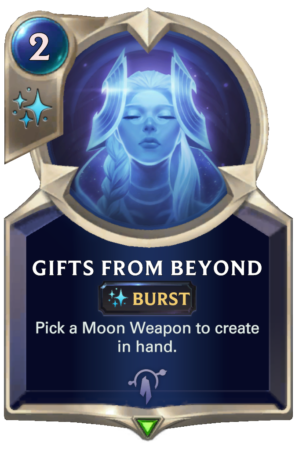 Gifts From Beyond (LoR card)