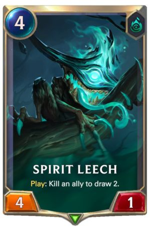 Spirit Leech (LoR Card)