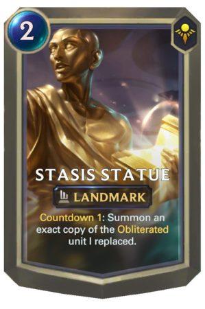 Stasis Statue (LoR Card)