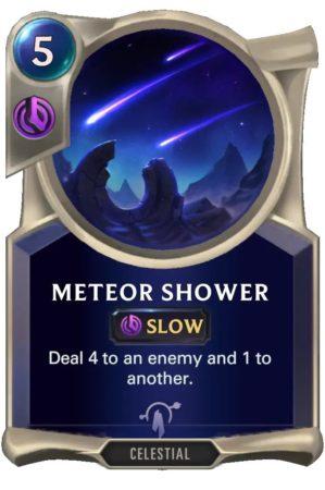 Meteor Shower (LoR Card)