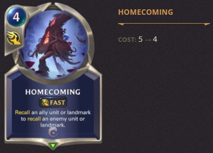 Homecoming Patch 2.1.0