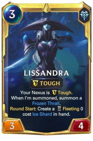 Lissandra level 2 (LoR Card)