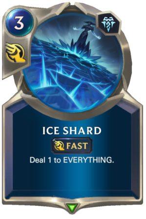 Ice Shard (LoR Card)