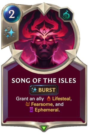 Song of the Isles (LoR Card)