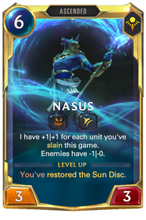 Nasus Level 2 (LoR reveal)