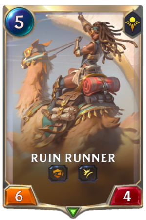 Ruin Runner (LoR reveal)