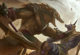 Renekton Level 3 (LoR splash)