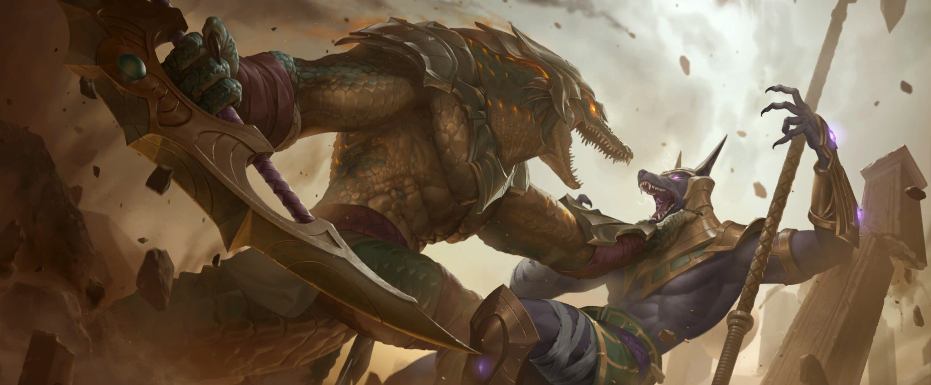 Empires of the Ascended LoR Card Impressions: Renekton (Quicksand, Exhaust, and More)