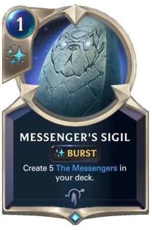 Messenger's Sigil (LoR Card)