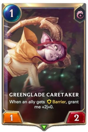 Greenglade Caretaker (LoR Card)