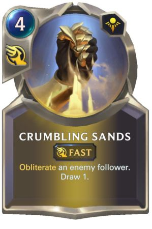 Crumbling Sands (LoR Card)